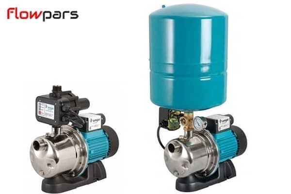 انواع سیستم های کنترلی پمپ آب خانگی