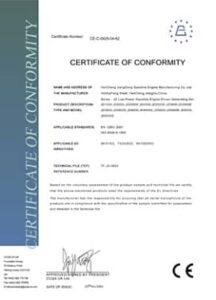 CE Certification Jiang Dong
