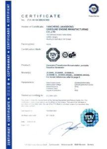GS Certification Jiang Dong