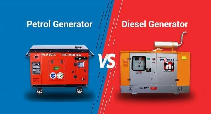 تفاوت موتور برق بنزینی و دیزلی