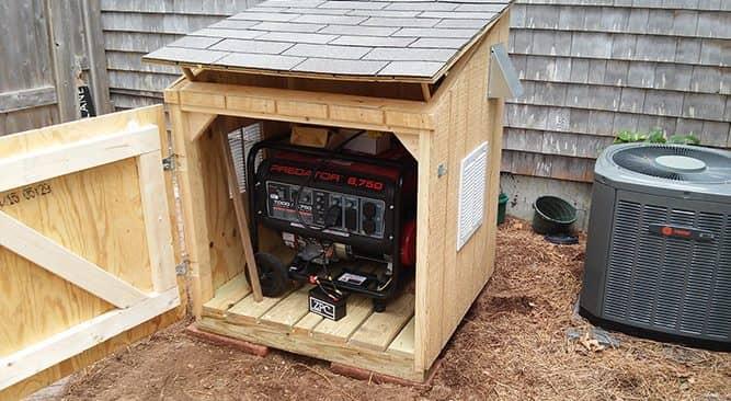 ساخت جعبه ضد صدا موتور برق